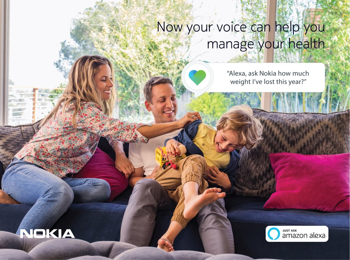 Nokia-Health-Mate-Alexa-integration