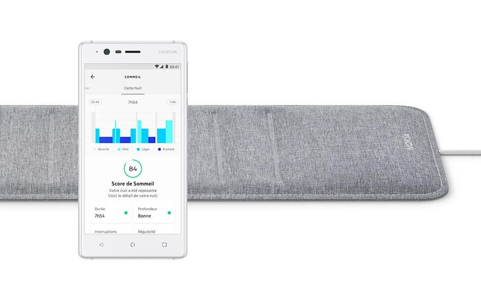CES 2018 : Avec Sleep, Nokia se rêve en coach du sommeil