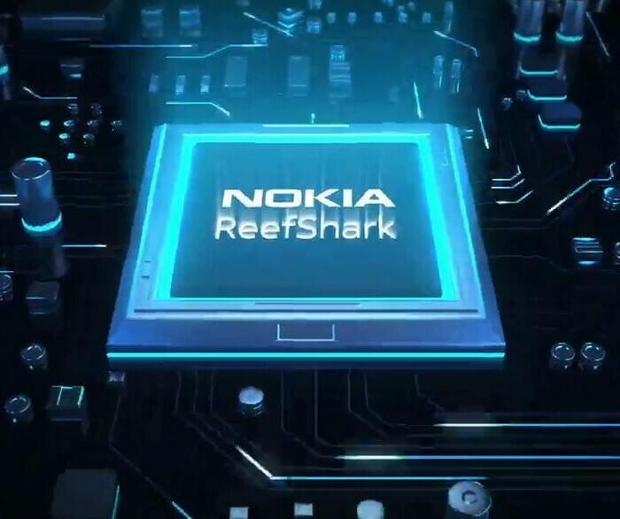Nokia lance ses chipsets ReefShark qui apportent un gain de performance aux réseaux 5G