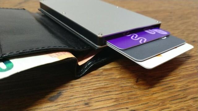 3 - Portefeuille RFID Simili Cuir