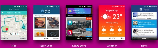 KaiOS Store Apps