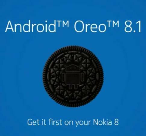 Nokia 8 : Android Oreo 8.1 en cours de déploiement !
