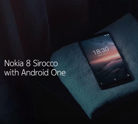 [Vidéo]  Présentation du Nokia 8 Sirocco sous Android One !