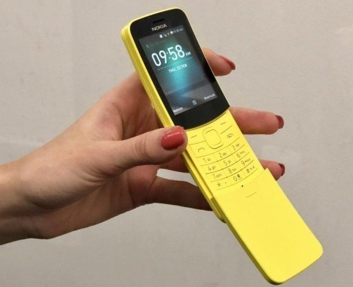 [Vidéo]  Démontage du Nokia 8110 4G