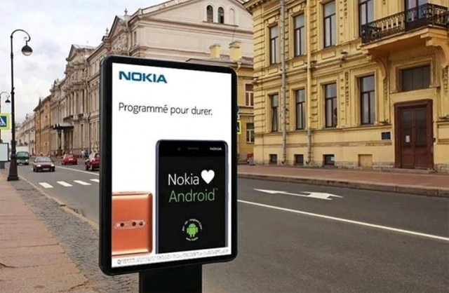 Nokia Mobile Android Paris Pub