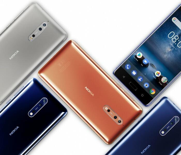 La mise à jour Android Pie pour le Nokia 8 retardée