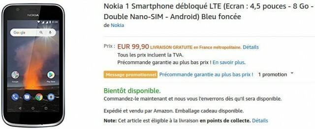 Nokia 1 Amazon