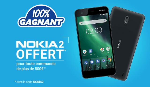 Nokia 2 offre RdC