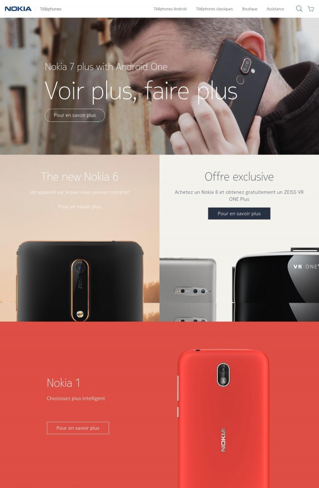 Nokia Mobile WEB 2018