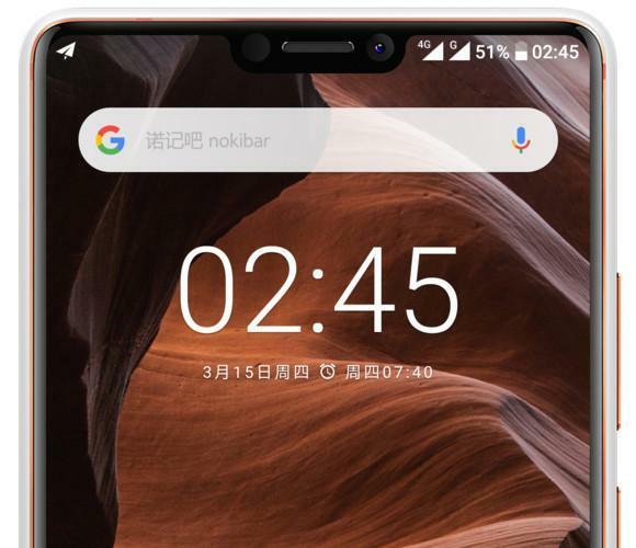 Nokia X6 : écran à encoche et le design du Nokia 7 plus ?