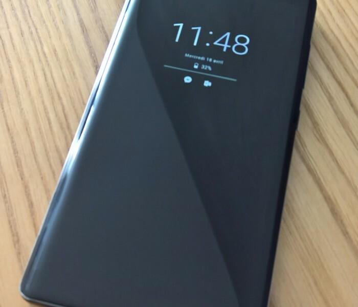 Quelques photos du Nokia 8 Sirocco par Jérémy