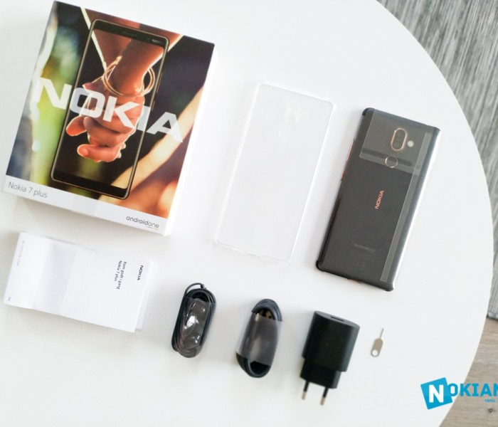 [Photos] Déballage du Nokia 7 Plus et spécifications