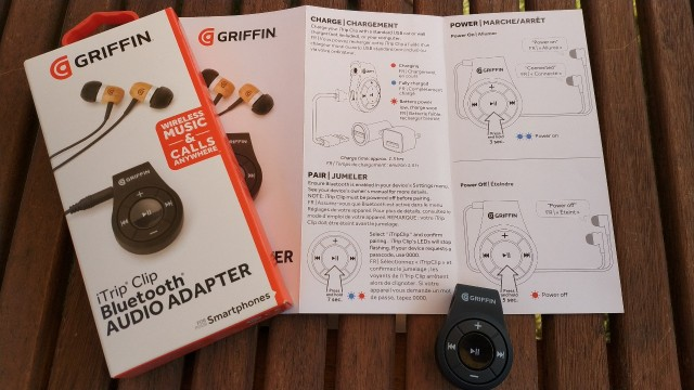 Griffin iTrip Clip package