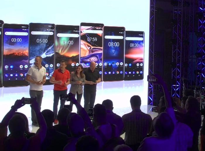 Présentation, spécifications et disponibilités des Nokia 2.1, Nokia 3.1 et Nokia 5.1 (versions 2018)