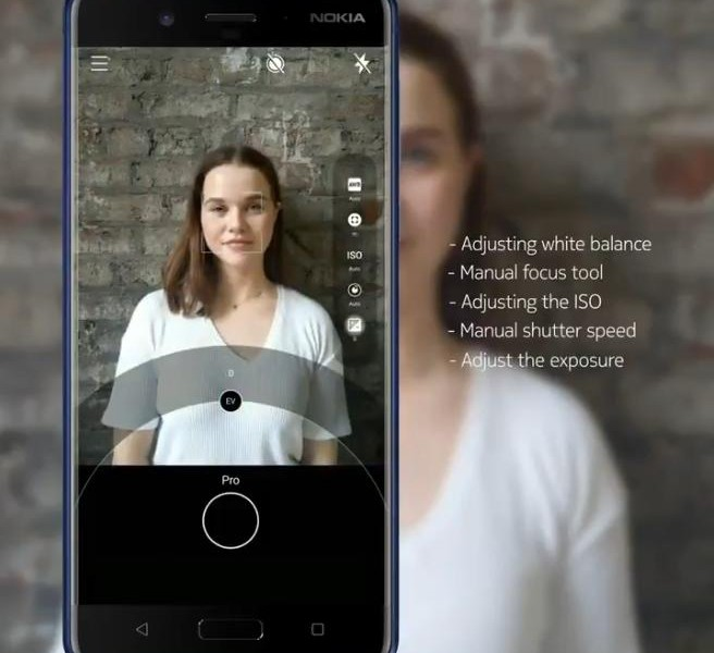 Le mode Pro Camera disponible pour le Nokia 8 !