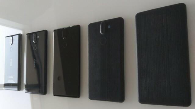 Nokia 8 Sirocco protos