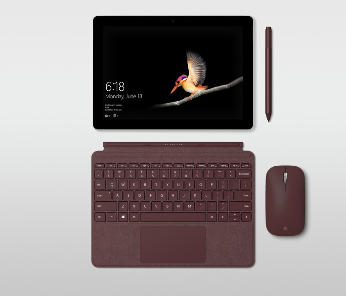 Microsoft présente Surface Go