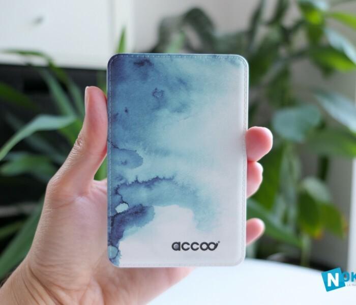 Présentation de la batterie universelle ultra stylée de Accoo