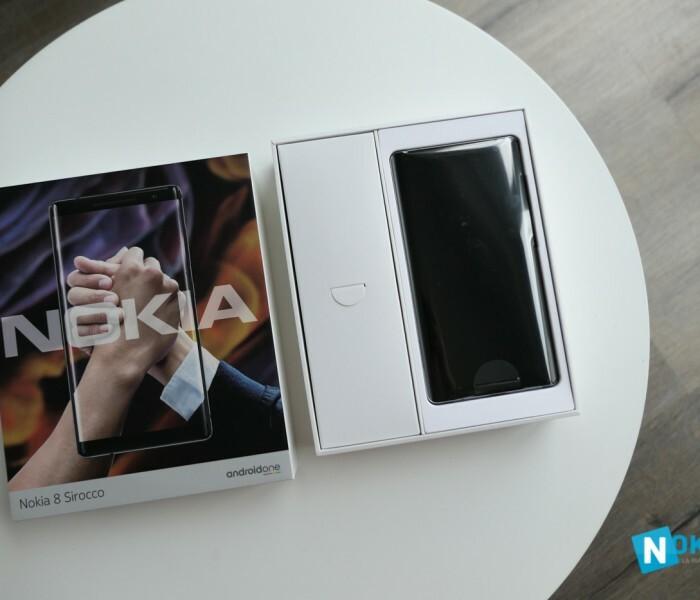 [Photos]  Déballage et spécifications du Nokia 8 2018 Sirocco
