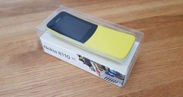 Le test de Bobby du Nokia 8110 version 2018