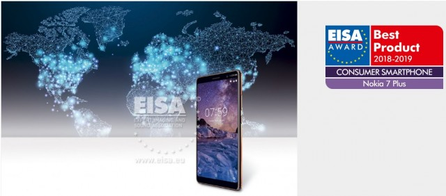 Nokia 7 plus EISA