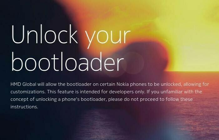 Il est maintenant possible de déverrouiller le bootloader de votre Nokia