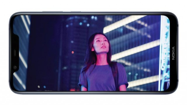 Nokia X7 Chinese Woman Screen