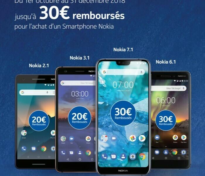 Nokia 7.1 : Voici les coupons pour recevoir les Nokia True Wireless Earbuds et le remboursement de 30 euros