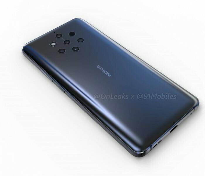 Différentes variantes du Nokia 9 Pureview ont passé la certification FCC
