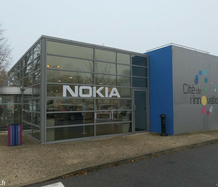 Visite du centre de R&D de Nokia à Paris Saclay