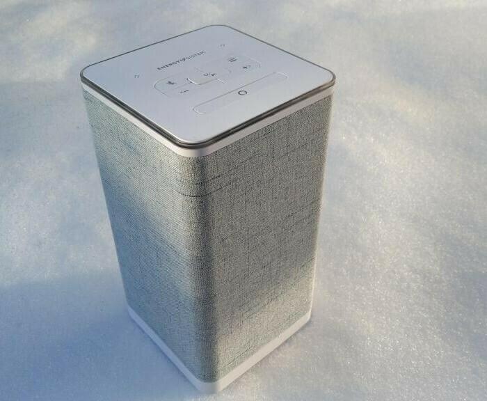 Présentation de l'enceinte intelligente Energy Sistem Smart Speaker 5 Home sous Alexa