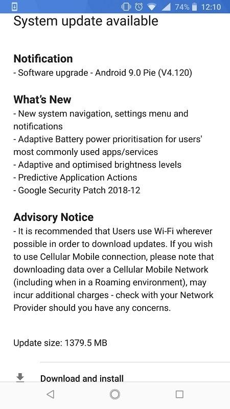Nokia-8-sirocco-Android-Pie