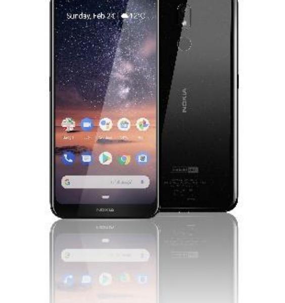 Lancement du Nokia 3.2, un smartphone accessible doté d'un très grand écran et d'une autonomie de deux jours