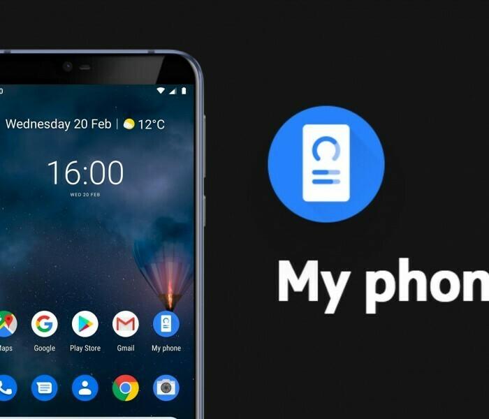 Nouvelle icône pour l'application Android «My Phone» de Nokia