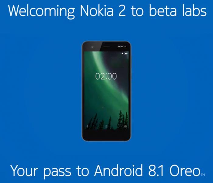 Déploiement imminent d'Android Oreo pour le Nokia 2