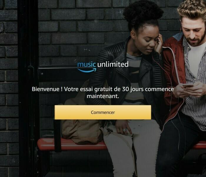 Testez gratuitement Amazon Music pendant 30 jours et dites-moi ce que vous en pensez !