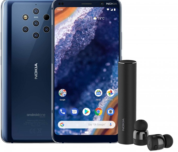 Précommandez votre Nokia 9 avec les oreillettes Nokia True Wireless Earbuds