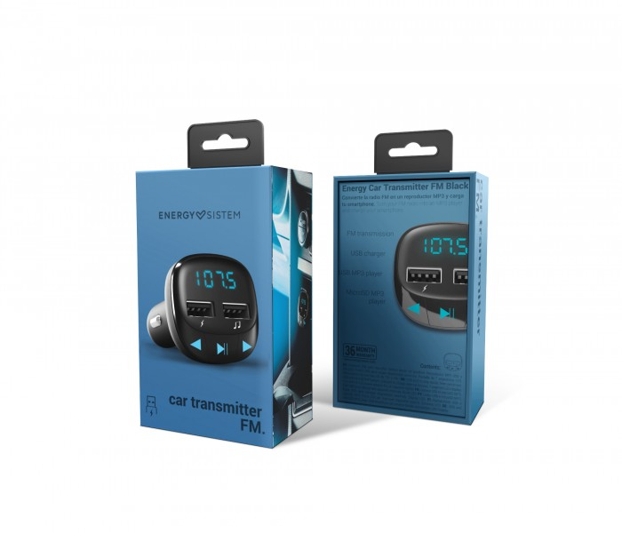 Energy Sistem lance l'Energy Car Transmitter FM Bluetooth
