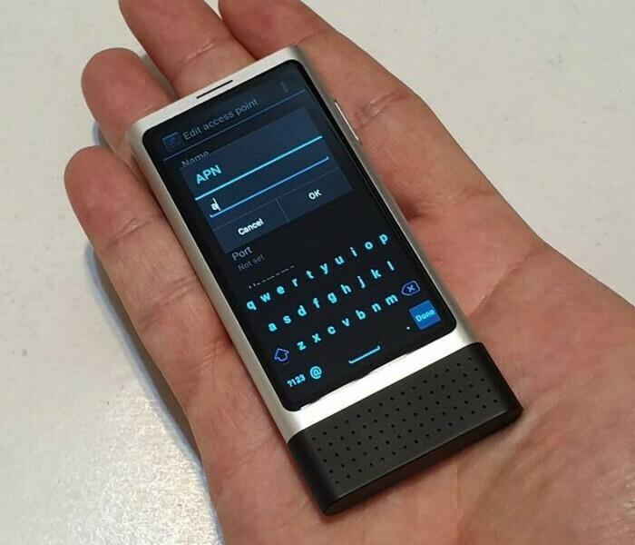 Nokia Ion Mini : un minuscule smartphone Android de 2013 !