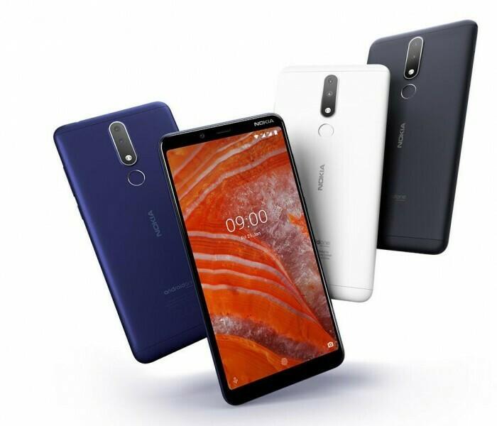 Android Pie (V2.25H) en cours de déploiement pour le Nokia 3.1 Plus