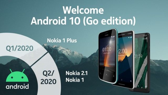 Entry Level Nokia Android Go