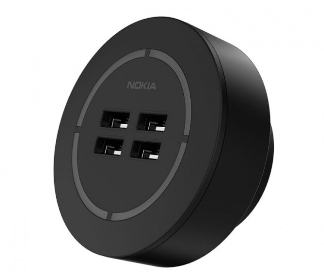 Nokia-4-Port-Wall-Charger