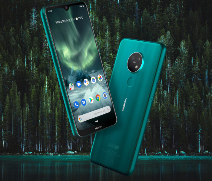 Nokia 7.2 : triple capteur photo avec optiques Zeiss