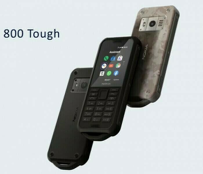 Nokia 800 Tough : un téléphone étanche et antichoc