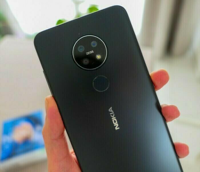 Le Nokia 7.2 reçoit une nouvelle mise à jour Android Pie (V 1.390)