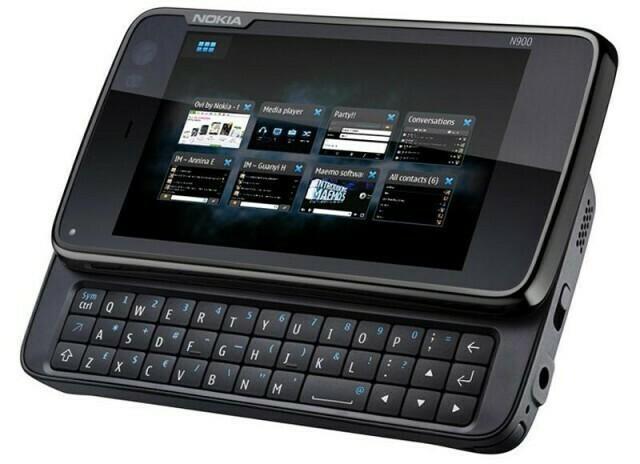 Nokia N900 open