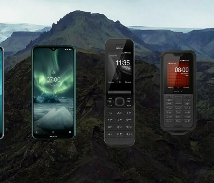 Chronologie des smartphones Nokia de 2017 à 2019
