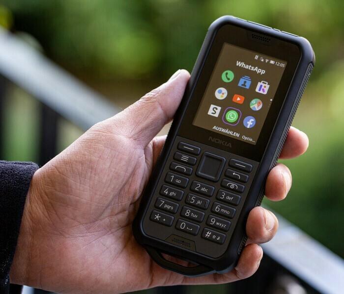 Premières impressions du Nokia 800 Tough… bonjour, au revoir !