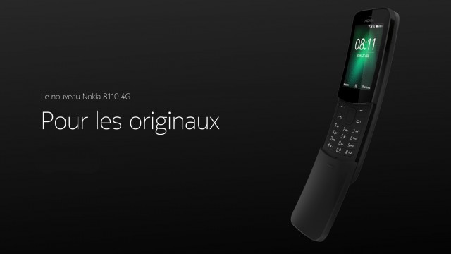 Nokia 8110 Black FR