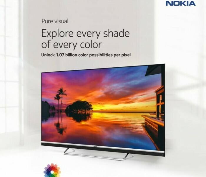Nokia a annoncé une TV 4K connectée sous Android en Inde